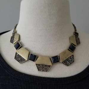 Jewelry - ⭐HP⭐ * Vintage * Gold * and * Black * Necklace